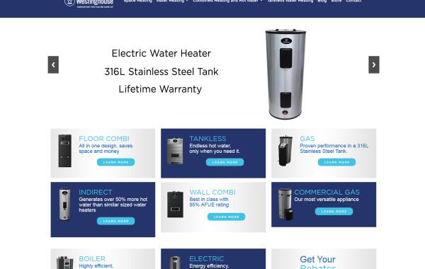 Westinghouse Water Heating