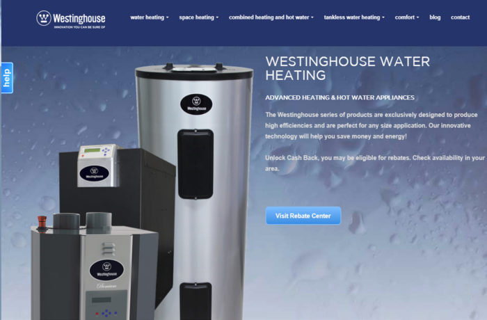Westinghouse Water Heating